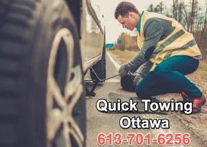 quick towing ottawa - roadside assistance