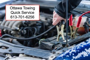 quick towing service ottawa battery boost